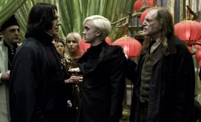 Tom Felton tinha pavor de Alan Rickman ao filmar Harry Potter