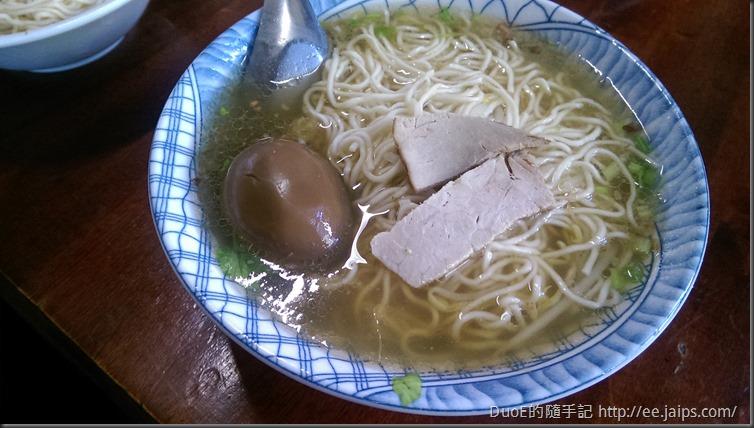 楊家蛋黃麵-湯麵