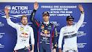 Top 3 qualifiers: 1. Webber 2. Vettel 3. Hamilton