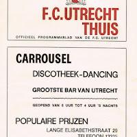 FCU Programmaboekjes 1971-72