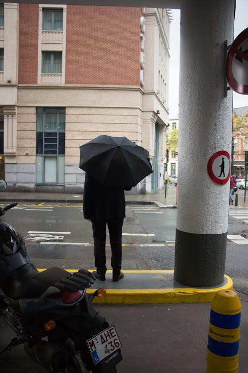 Umbrella, Brussels
