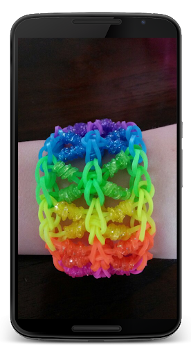 How to weave from rubbers
