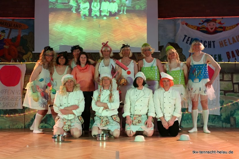 Männerballett des TKV 2014