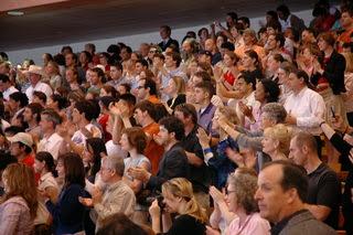 público magia aplaudiendo
