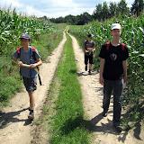 Podróż można osłodzić sobie kukurydzą, nielegalnie zerwaną z pola.