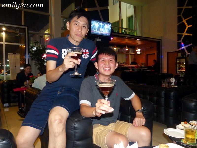 Espora Spanish wine tasting Ipoh
