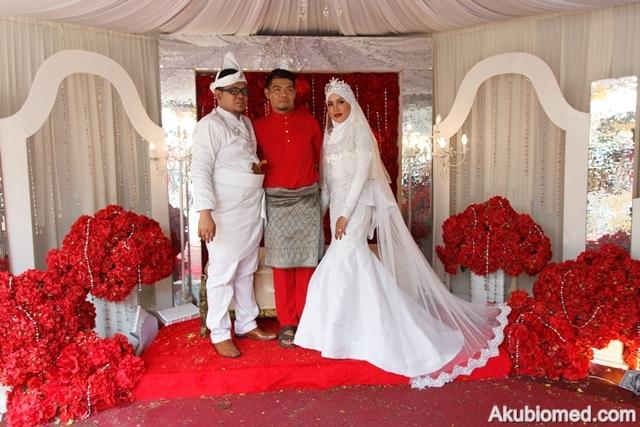 razak bersama pengantin
