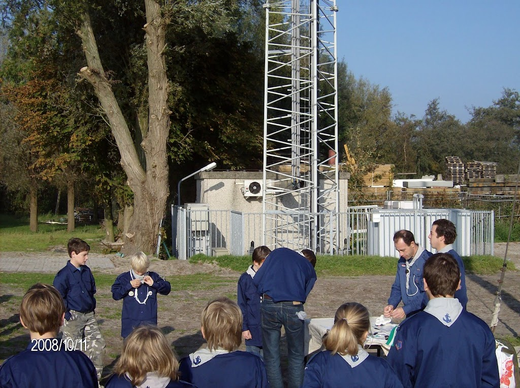 Installatie Bevers, Welpen en Zeeverkenners 2008 - HPIM2184.jpg