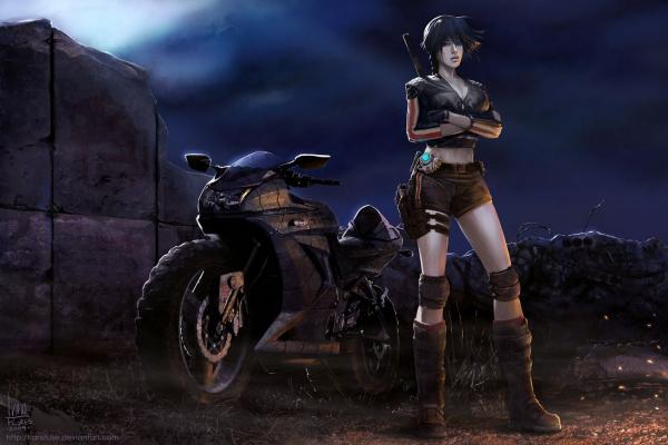 Cool Fiction Maiden, Fiction 3