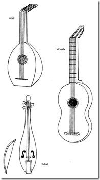 musica época  don Quijote  blogcolorear (13)