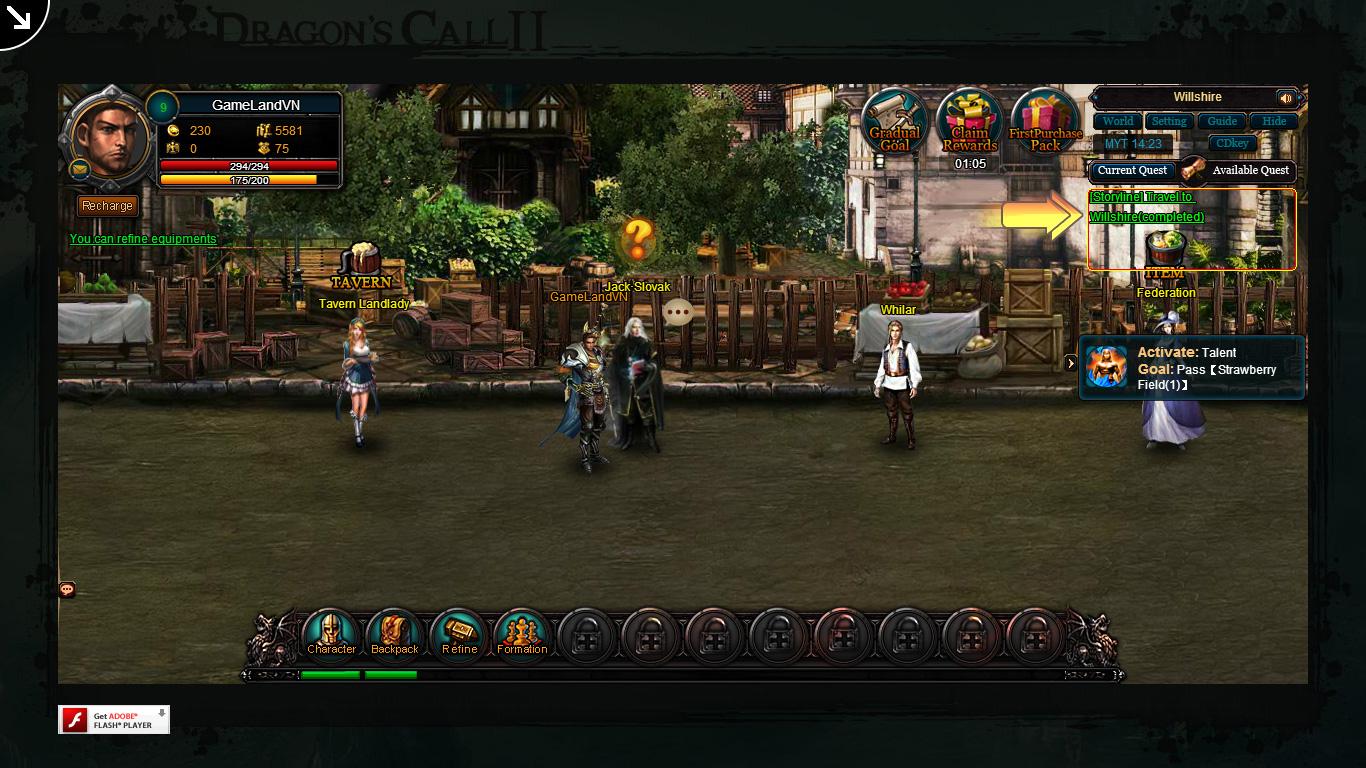 Một số hình ảnh về webgame Dragon's Call 2 - Ảnh 17