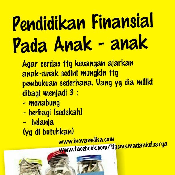 Cara Sederhana Ajarkan Pendidikan Finansial Pada Anak - Anak