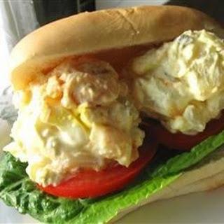 A Potato Salad Sandwich
