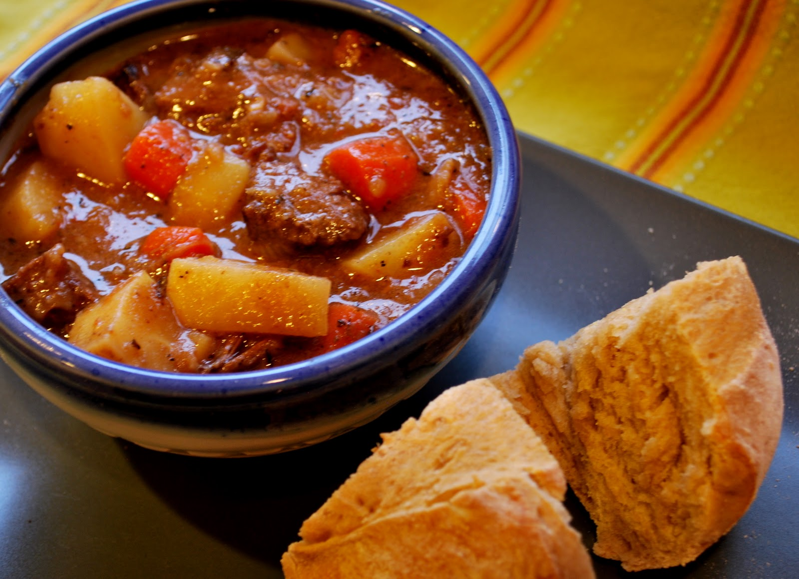 how to make vegetable beef stew