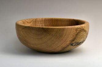 "Photo: Tom Ankrum - Bowl - 9 1/2"" x 2"" - white oak"