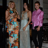 WWW.ENTSIMAGES.COM -    Julie Van Ingelgem, Zara Sassoon  and Lucy Jubb  at     II   Bottaccio  Grosvenor Place London  September 4th 2013                                               Photo Mobis Photos/OIC 0203 174 1069