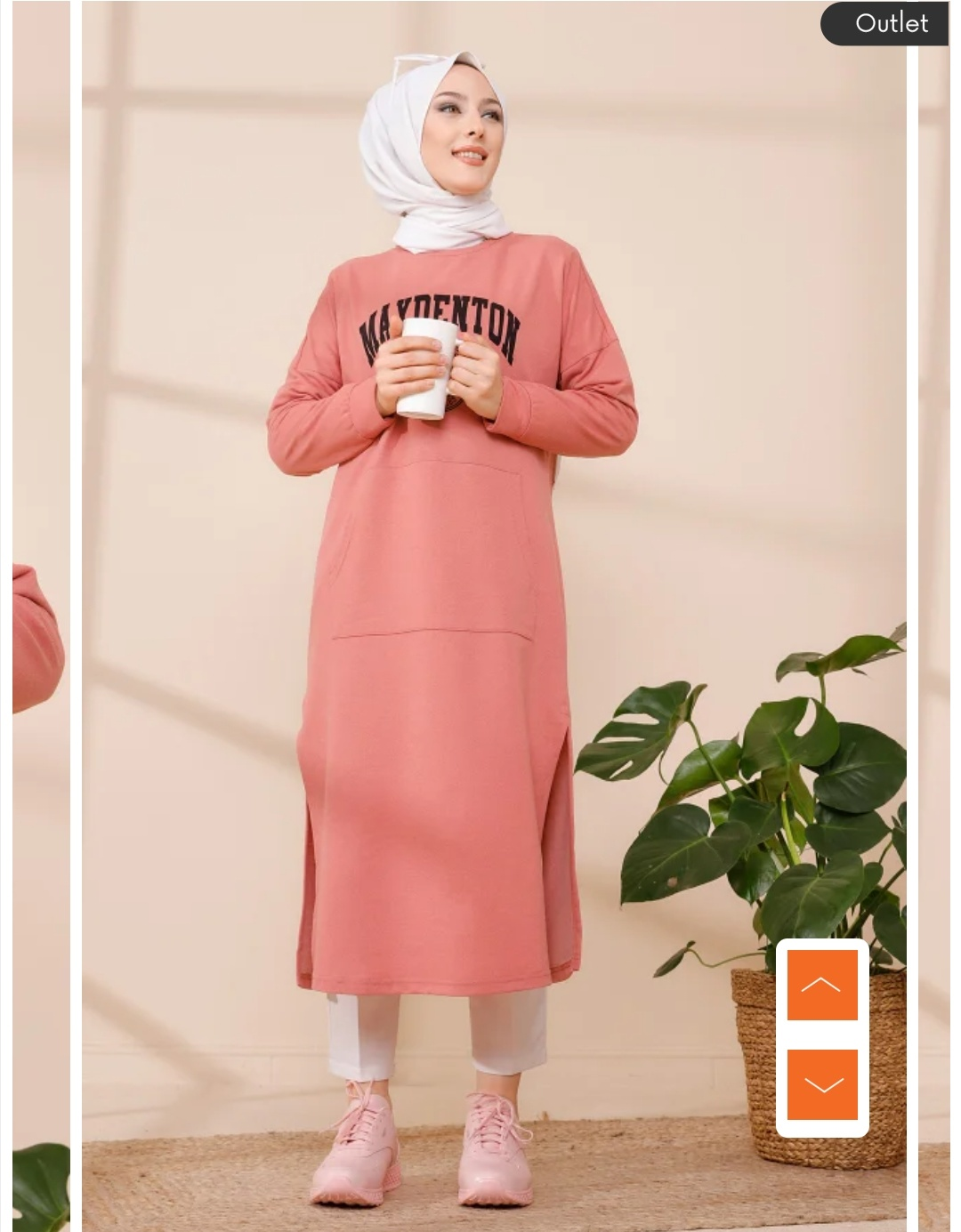 Hijab elegant tunic styles for hijabi woman
