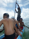 On the east coast with YWAM Tamatave, we took a canoe ride out into the ocean.
