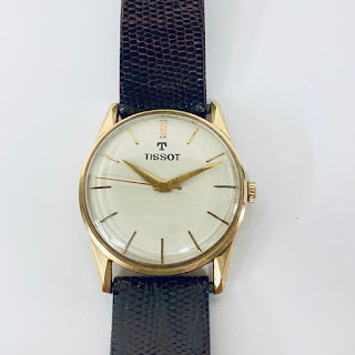 14K Gold Tissot Watch