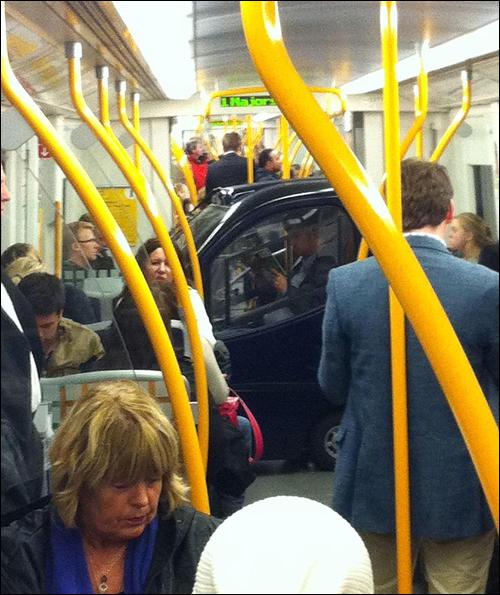 tranquilonometro Tranquilo no metrô