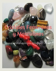 cristales femeninos y masculinos