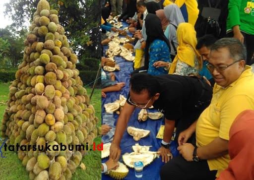 Nikmati 5 Ribu Buah Durian di Festival Duren-Duren 2 Cuma Bayar 50 Ribu Rupiah Makan Durian Sepuasnya