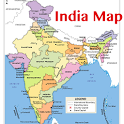 India Map & Capitals icon