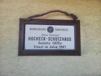 Hocheck Schutzhaus