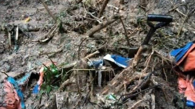 3 maut termasuk bayi, kanak-kanak 5 tahun dalam tanah runtuh