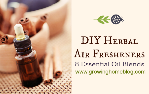 DIY Herbal Air Fresheners