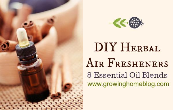 DIY Herbal Air Fresheners