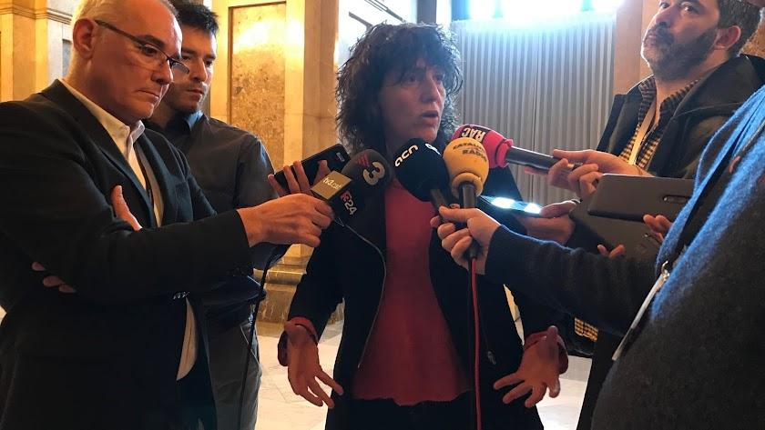 La consellera de Agricultura, Ganadería, Pesca y Alimentación, Teresa Jordà