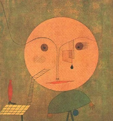 Paul Klee - Error on green