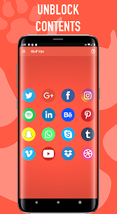 Wolf Vpn – Free Unlimited Vpn Proxy Service App Download For Android 5