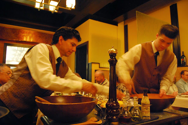 Caesar salads being made tableside at The Steakhouse / Credit: Bellingham Whatcom County Tourism