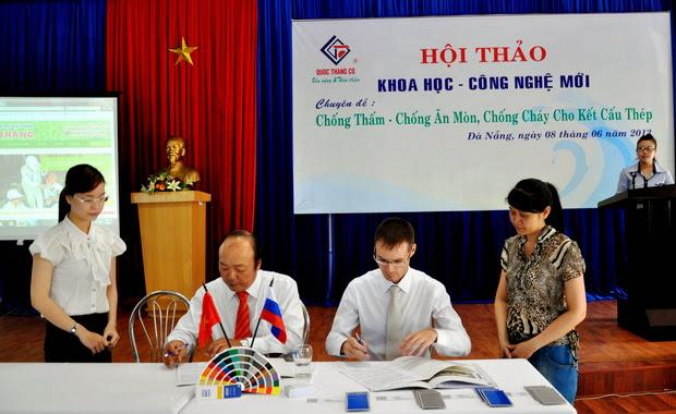 Thoả thuận hợp tác VMP và QuocThang Co