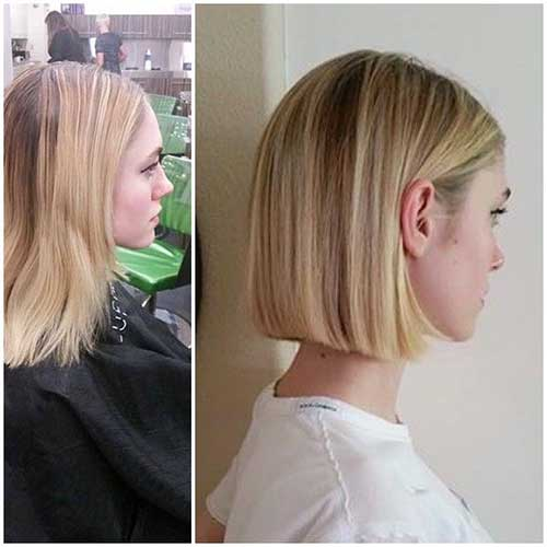 Best Short Haircuts Highly Recommended For Fine Straight Hair 2018