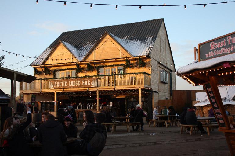 artic lodge bar hyde park winter wonderland
