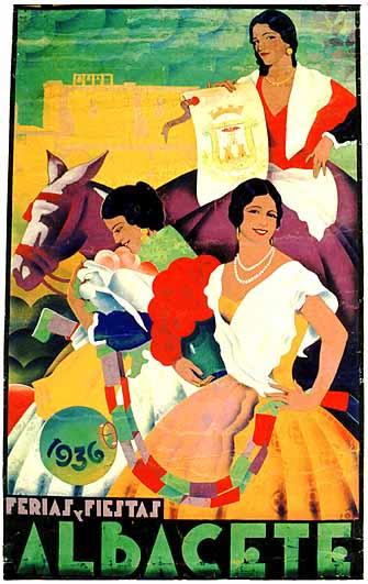 Cartel Feria Albacete 1936