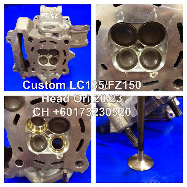 CH Motorcycle Store: Custom LC135 Head 20/23