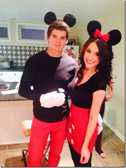 disfraz de mickey y minnie mouse (3)