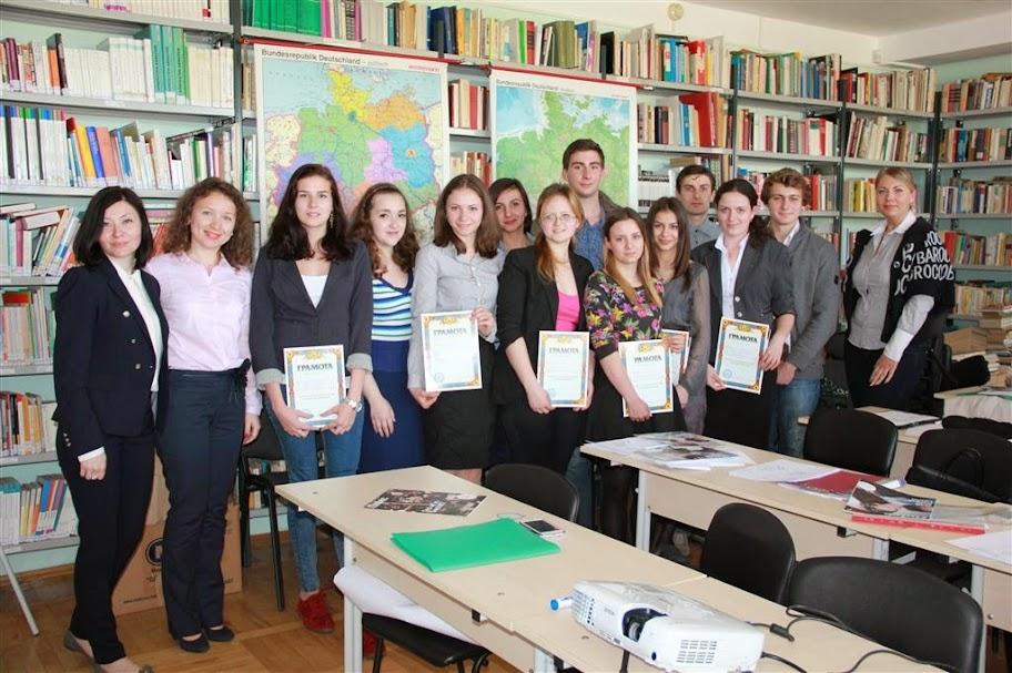 """Die 70. Studentenkonferenz  an der Nationalen Metschnikow-Universität Odessa Sektion """"Deutsche Sprache"""" (25.04.2014)"""