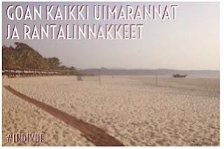 Goan kaikki uimarannat ja rantalinnakkeet