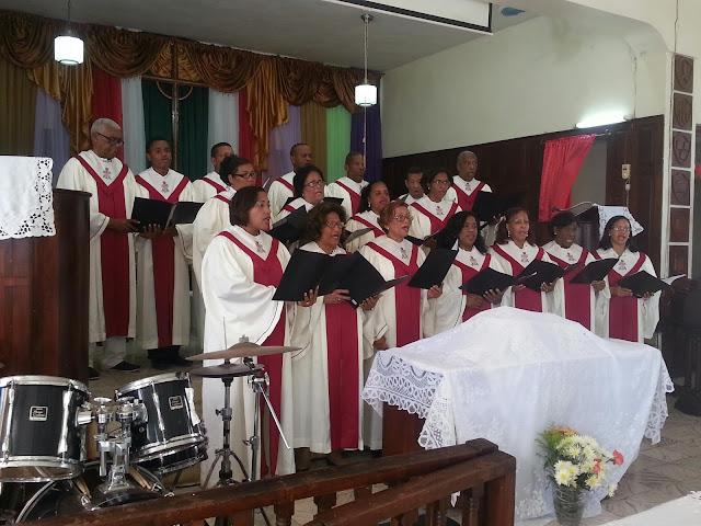 Primera Iglesia Evangélica Dominicana de Barahona celebra sus 92 aniversario.