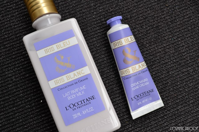 L'Occitane Iris Bleu Body Milk and Hand Cream Review
