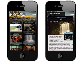 Photo: White Scar Cave mobile site, www.whitescarcave.co.uk/mobile Implemented by: Obergine