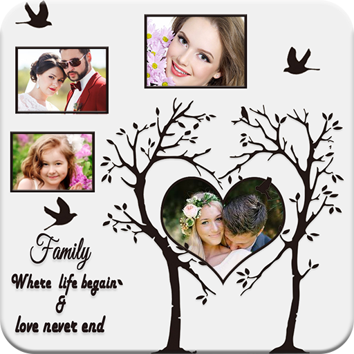 Tree Photo Collage Maker