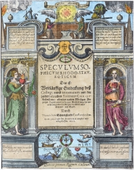 From Schweighardt Speculum Sophicum Rhodostauroticum 1618, Alchemical And Hermetic Emblems 2