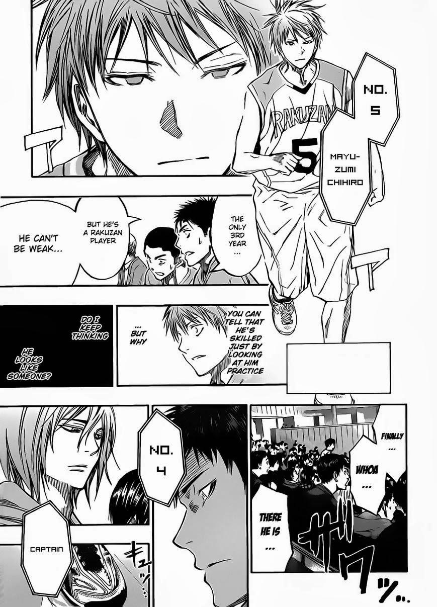 Kuroko no Basket Manga Chapter 231 - Image 18