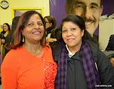 En primera faceta, desde la izquierda: Miguelina Núñez y Marianela Espinal.